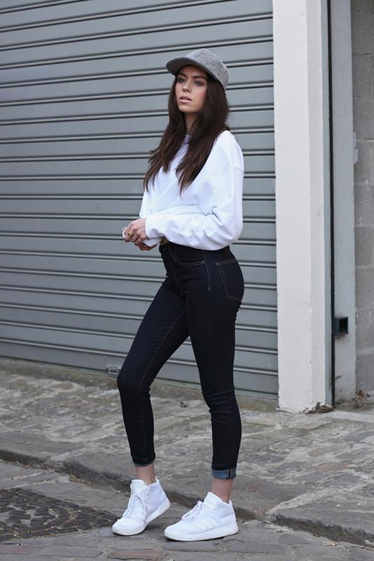 street wear styl miesjki dla kobiet