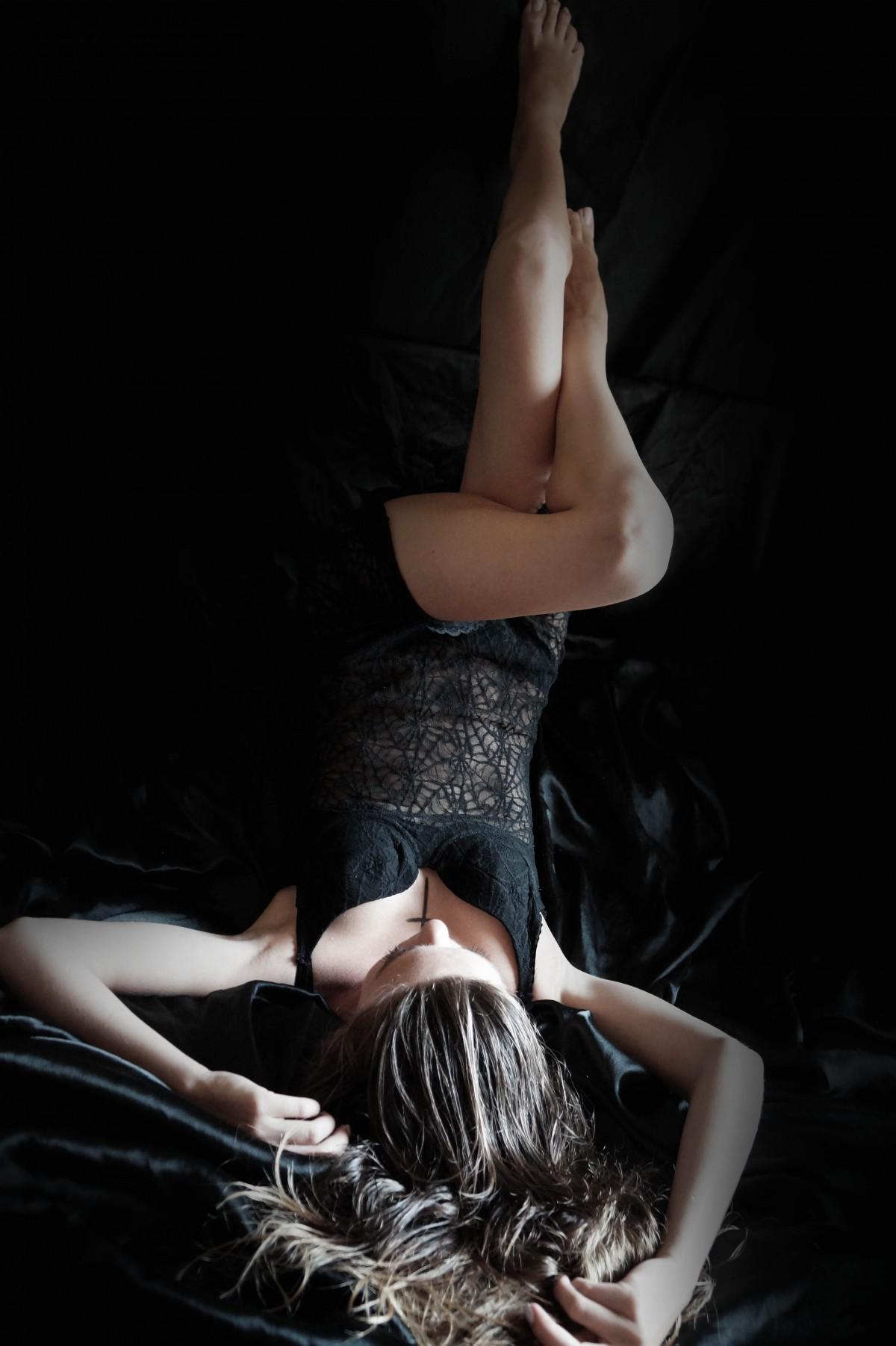 Body damskie czarne