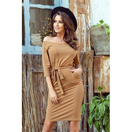 sukienka bordowa