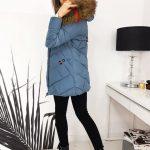zimowy płaszczyk damski